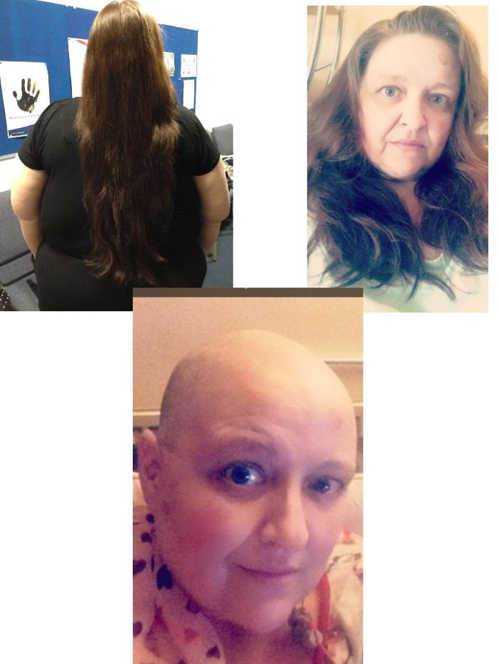 Ruthy's Headshave For Cancer Appeal & Hair Donated To Princess Trust October 2016