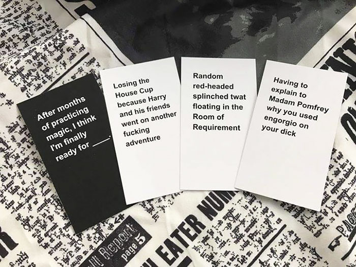 How to make your own Cards Against Humanity