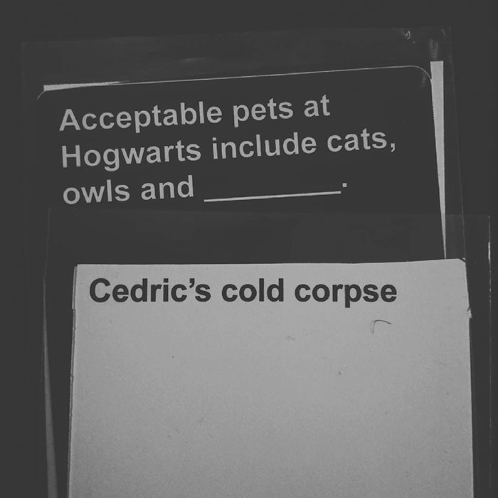 Harry Potter Version Of Cards Against Humanity Exists And Its