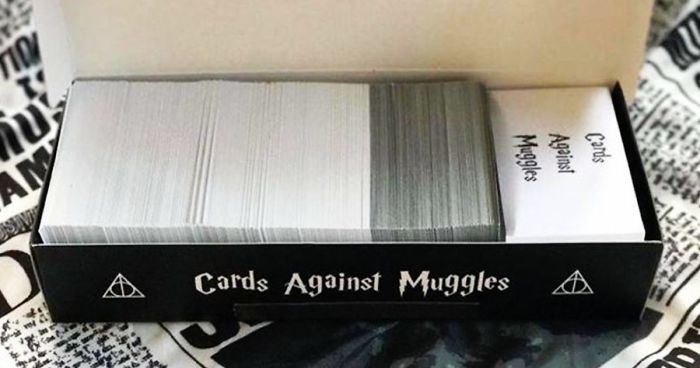 image regarding Cards Against Humanity Printable named Harry Potter Variation Of \u201cCards In opposition to Humanity\u201d Exists, And