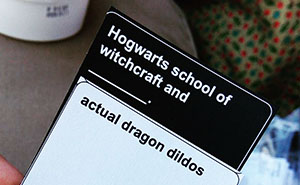 "Harry Potter Version Of ""Cards Against Humanity"" Exists, And It's What Every ADULT Muggle Needs"