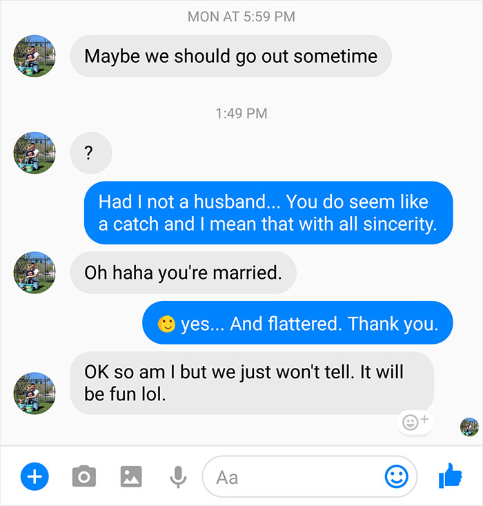 Cheating slut talk about husband something