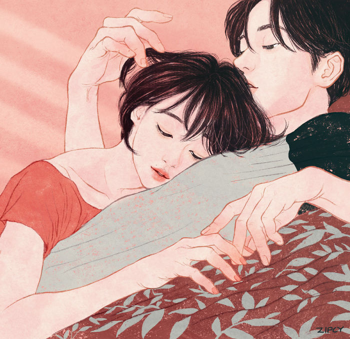 His Scent Was Like Burying My Face In The Afternoon Pillow Filled With Sunshine.  I Wanted To Suddenly Hold Him
