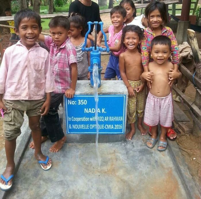 Water Well In Cambodia Ghana And Burkina Faso