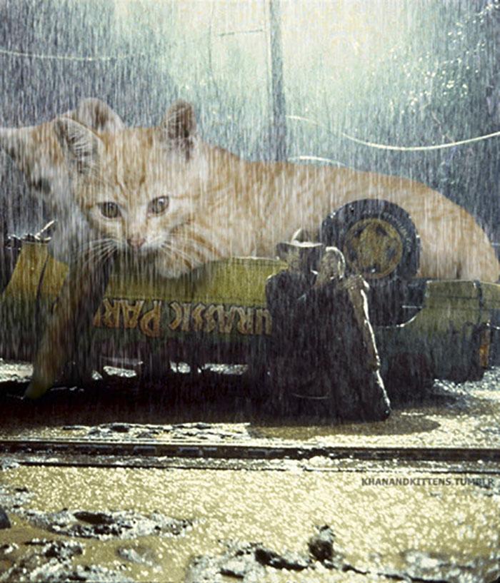 Jurassic Kittens