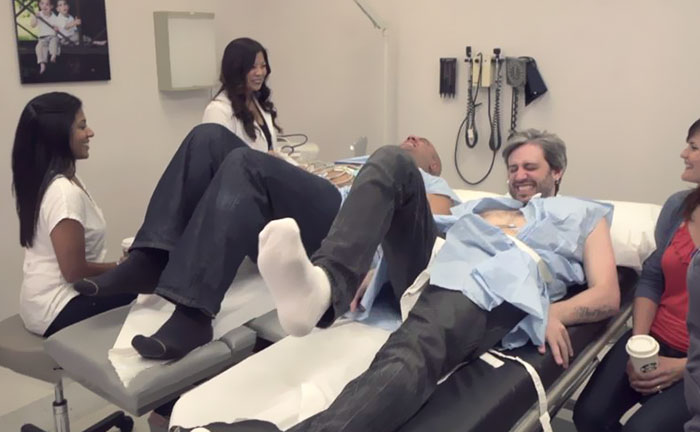 """Two Husbands Tried Labor Pain Simulators To Prove """"Women Exaggerate Everything"""""""