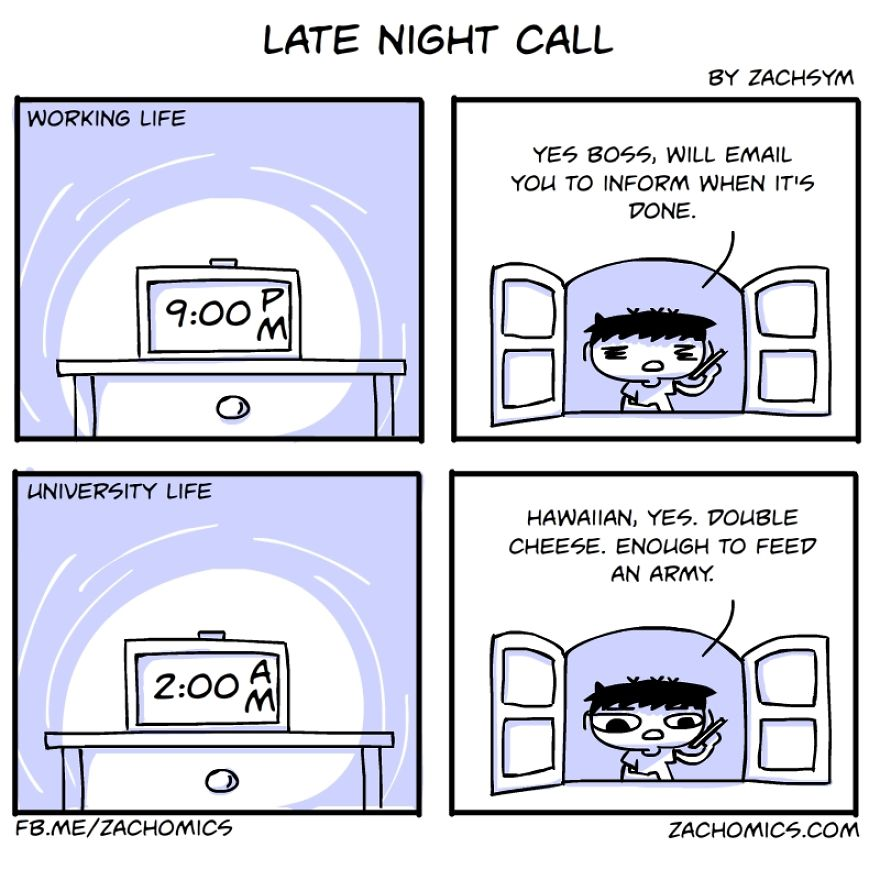 Sometimes, You Get Calls At Night. Not The Romantic Kind
