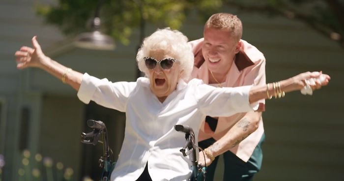 The Internet Is In Love With Macklemores Gift To His Grandma On Her 100th Birthday