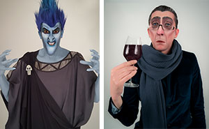 I Turn People Into Disney Villains Using Makeup