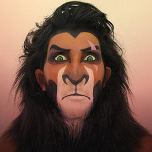 Convierto a la gente en villanos Disney usando maquillaje