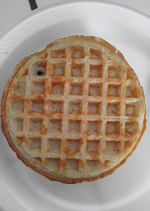 This Blueberry Waffle