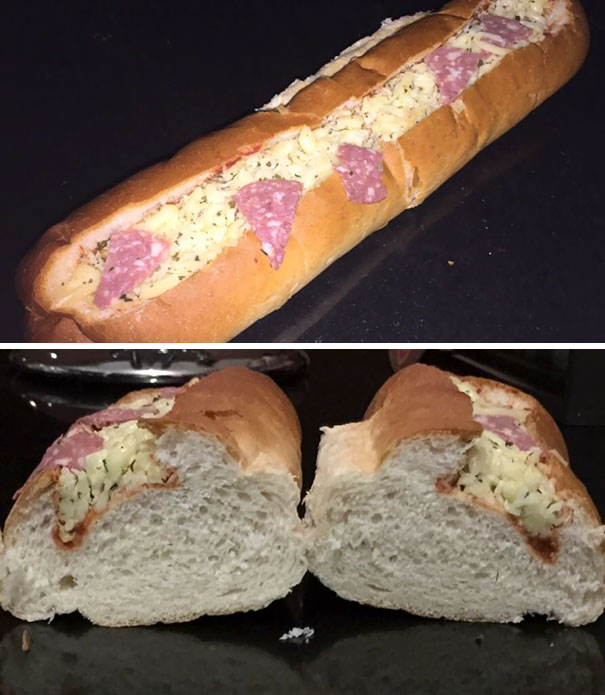 The Sub I Bought For Dinner Tonight