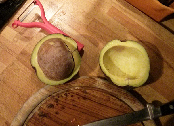I Planned Avocado For Dinner
