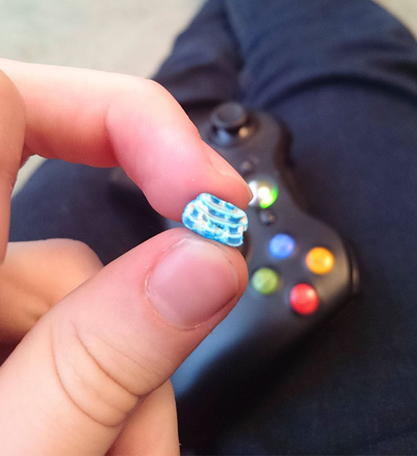 Bit Into A Chocolate M&M, It Was Only Layers Of Shell