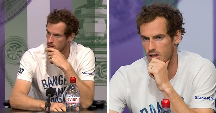 Andy Murray Interrupts Reporter's Sexist Question To Stop Casual Sexism, And His Interview Goes Viral