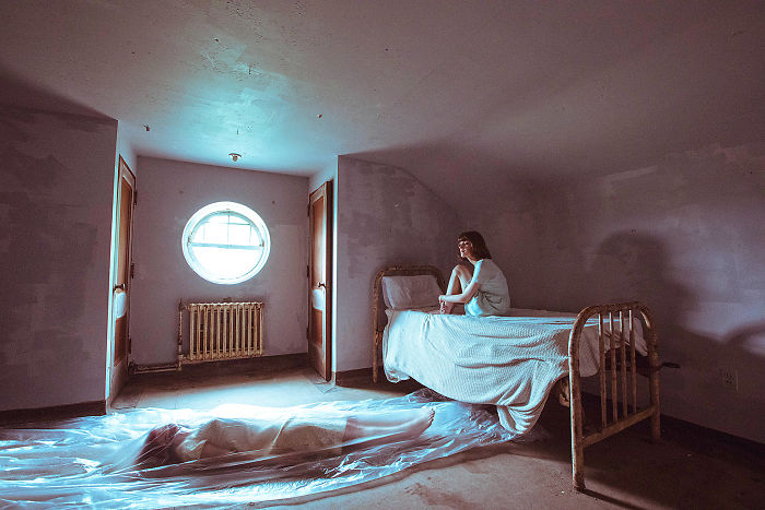 I Spent A Day Creating Sci-Fi Scenes In A 200 Year Old Asylum