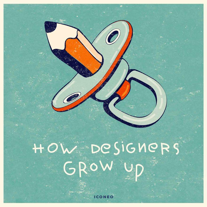 How Designers Grow Up