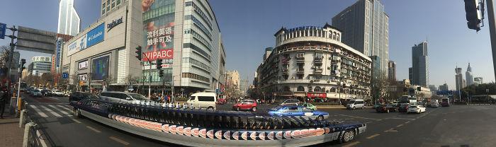 The Longest Taxi Inn Shanghai, China