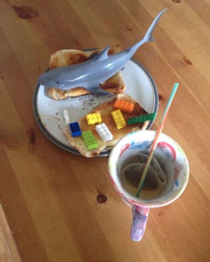 Mis hijos me han hecho el desayuno por el día del Padre