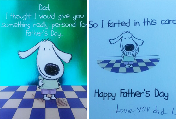 My 11-Year-Old Got Me This Card For Father's Day. Thanks, Son