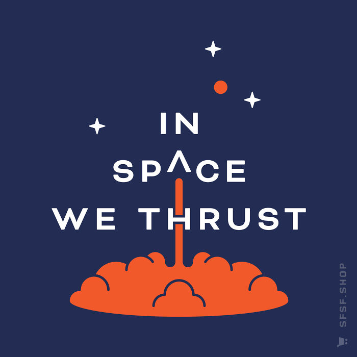 In Space We Thrust