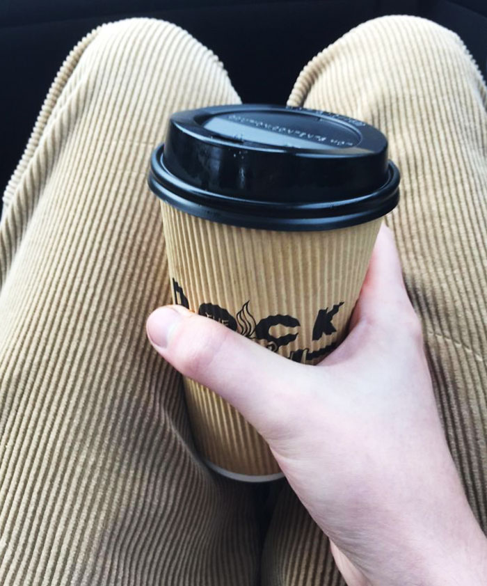 Coffee Cup Matches My Pants