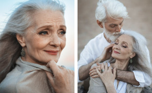 Russian Photographer Captures Beautiful Elderly Couple To Show That Love Transcends Time