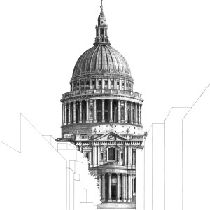 I Drew St Paul's Cathedral In London From Different Perspectives