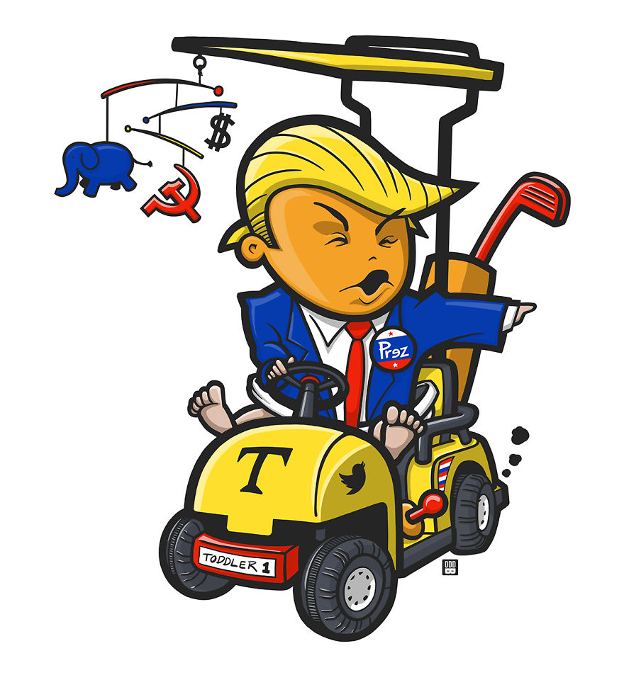 Toddler-in-chief