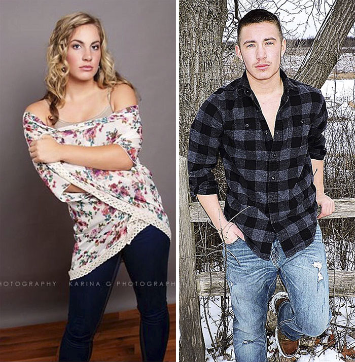 Transgender Man Shares Incredible Before & After Progress Photos, Loses His Friends And Family ...