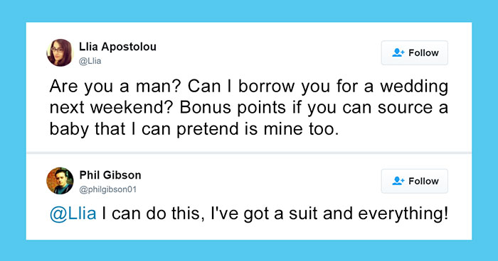 Woman Asks Twitter If There's A Man Who Wants To Be Her Wedding Date, 3 Years Later…
