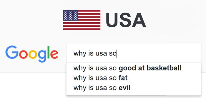"""We Typed """"Why Is [Country] So..?"""" In Google Search, And This Is How It Autocompleted For Each Country"""