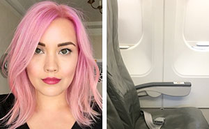 Woman Posts Photo Of Absolute Worst Passenger To Be Seated Next To, And It Goes Viral