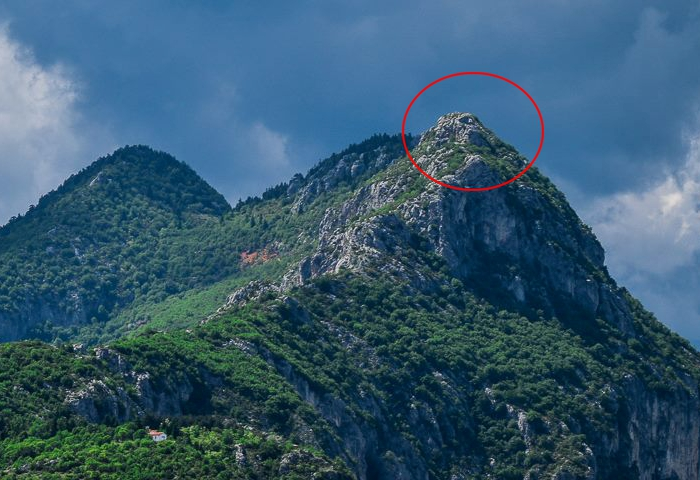 They Say That The Face Of Zeus Is On The Top Of This Greek Mountain!