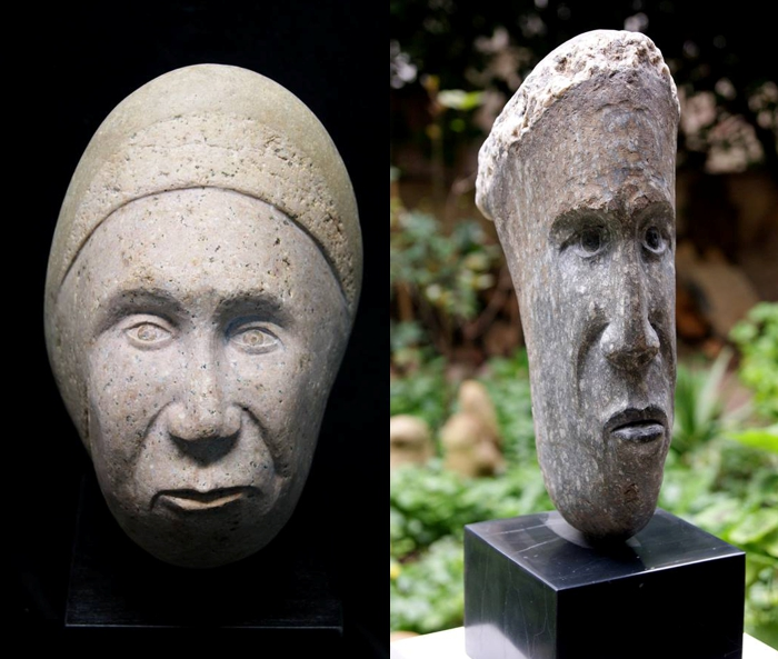 Revealing The Secret Faces Of Stones!