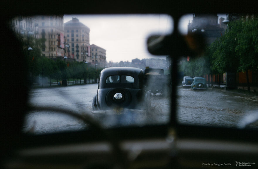 Flooded Streets In Kiev