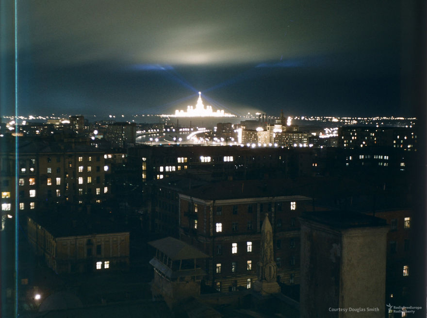 A Night Shot Of Moscow