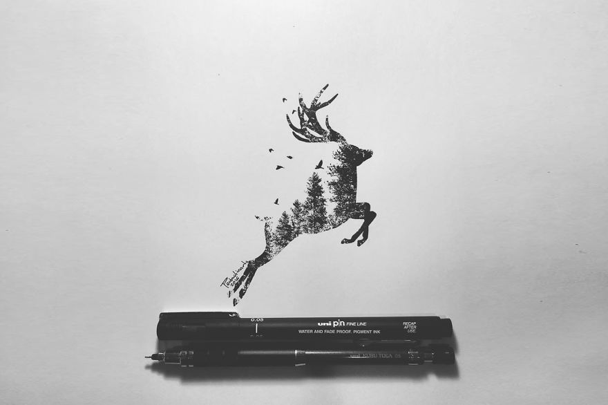 Wild Silhouette Series - Stance (Stag)