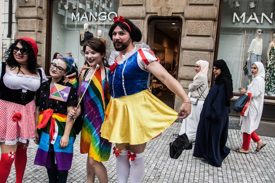 LGBT Prague Pride And Its Contrasts