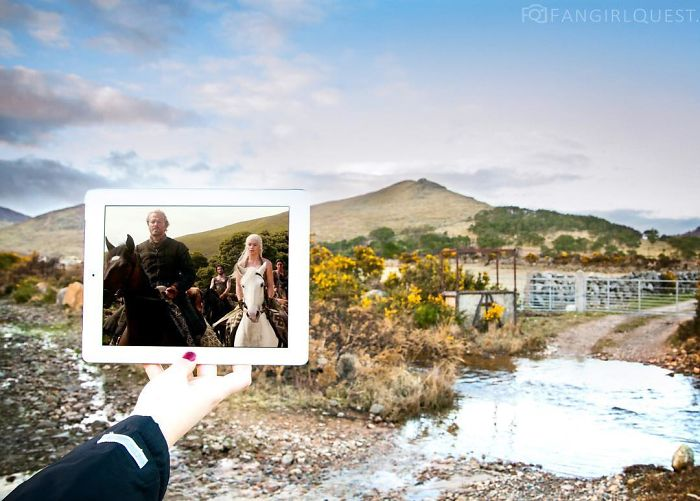 Double Travels The World Photographing The Locations Of Game Of Thrones And Other Famous Movies
