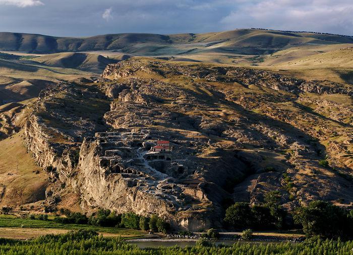 Uplistsikhe, An Abandoned Rock-hewn Town In The Central Kartli Region