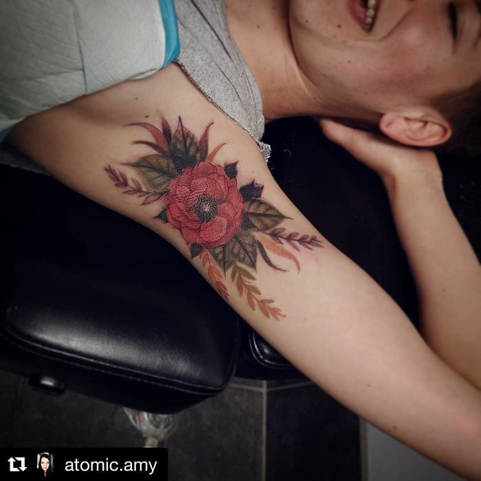 Armpit Tattoos Are The New Art Trend In The Body