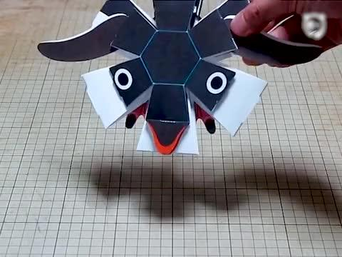 Japanese Paper Toys With A Surprise Bored Panda
