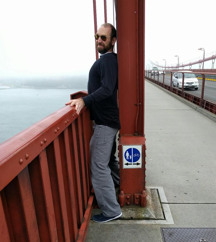 El puente Golden Gate no quiere peatones