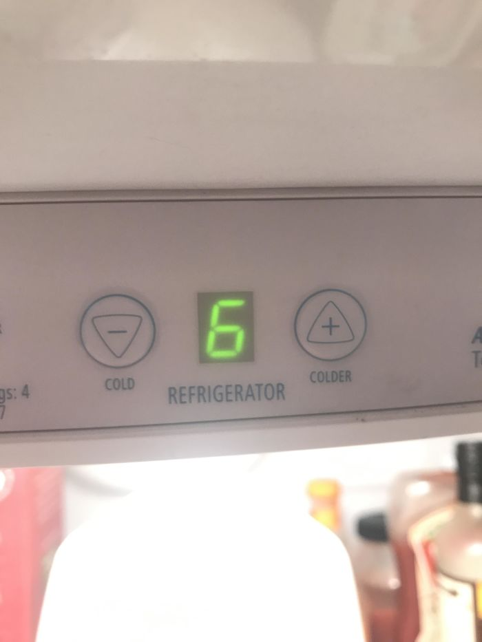 My Wife Asked Me Why The Fridge Was Getting Warmer After She Kept Pressing The