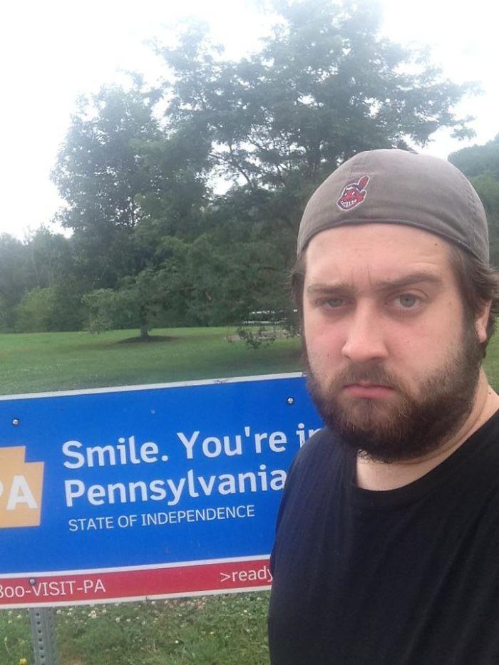 Smile, You're In Pennsylvania