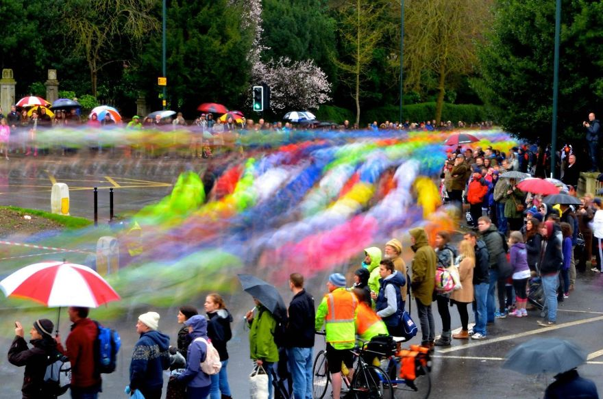 Marathon Of Colour Long Exposure