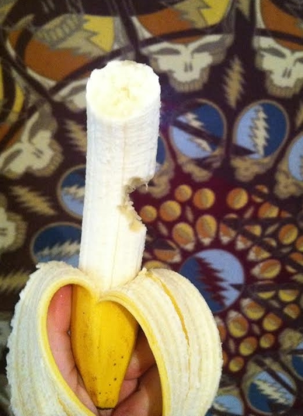Asked My Fiance If He Wanted A Bite Of My Banana, Got This Back