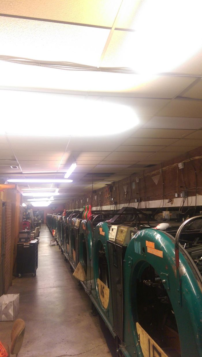 If You've Ever Wondered What The Back Of A Bowling Alley Looks Like Here Ya Go! (I'm A Bowling Alley Mechanic)