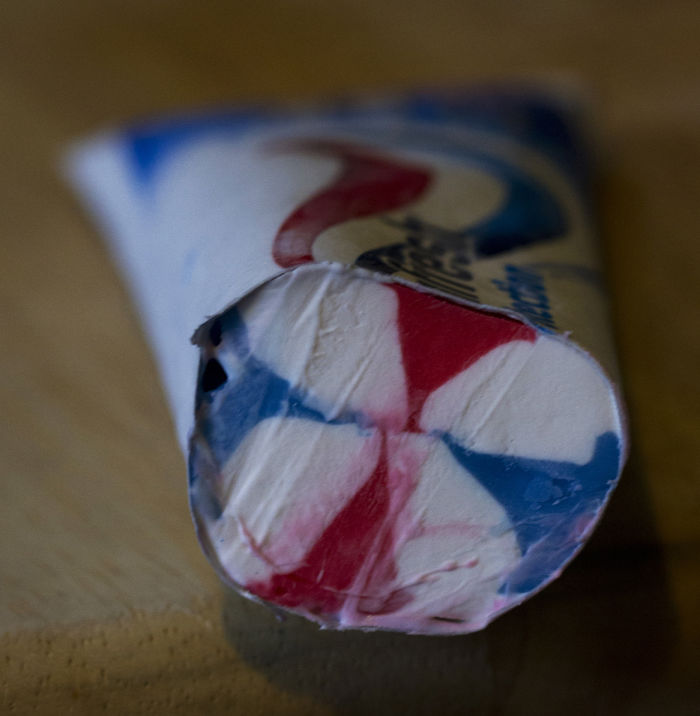 Inside A Toothpaste Tube